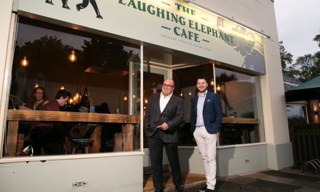 THE LAUGHING ELEPHANT CAFÉ'S SEPTEMBER LAUNCH PARTY