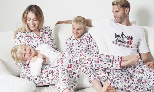 CYBERJAMMIES LAUNCH LONDON THEMED FAMILY PRINT PJS & SLEEPWEAR COLLECTION