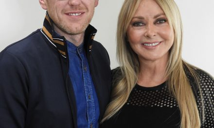 CAROL VODERMAN TURNS HEADS AT JAMES ROBERTS HAIR AND BEAUTY