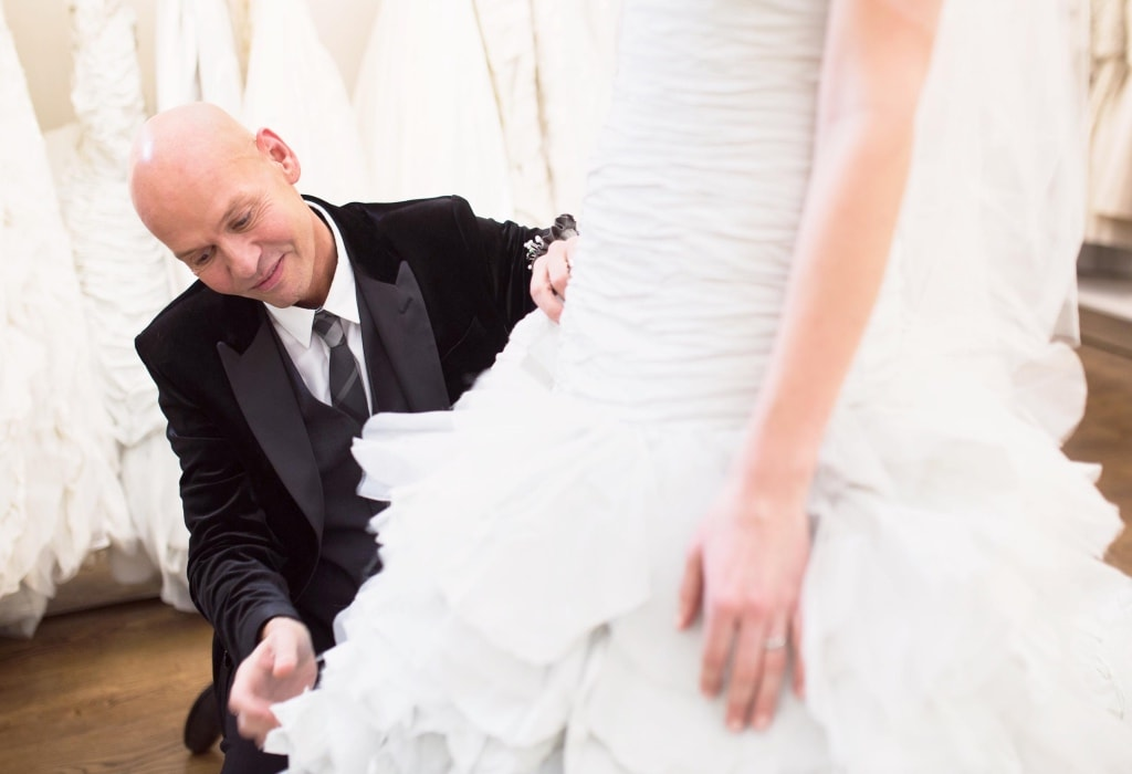 STAR OF 'THE POSH FROCK SHOP' INTRODUCES HIS COLLECTION AT BRIDES OF CHESTER