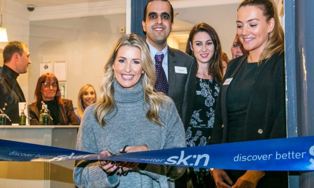 Leanne Brown launches sk:n's 50th clinic