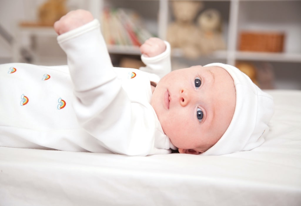 JOJO MAMAN BEBE LAUNCH RAINBOW SLEEPSUIT IN AID OF NHS & MANCHESTER FOUNDATION TRUST CHARITY